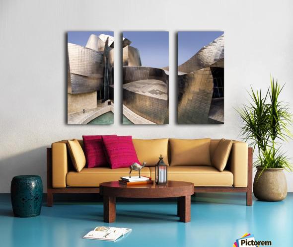 undulation Split Canvas print