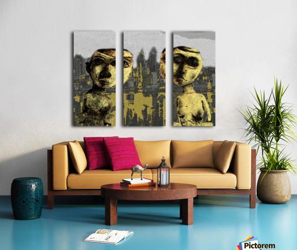 Nueva York Split Canvas print