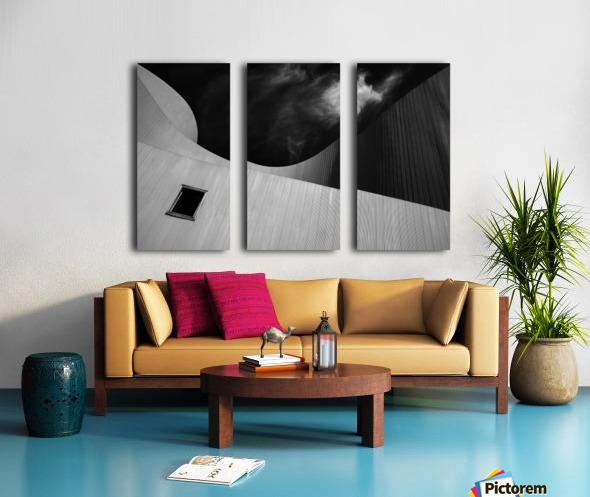 The window Split Canvas print