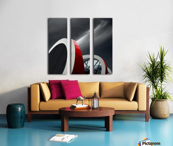 Mediacita Split Canvas print
