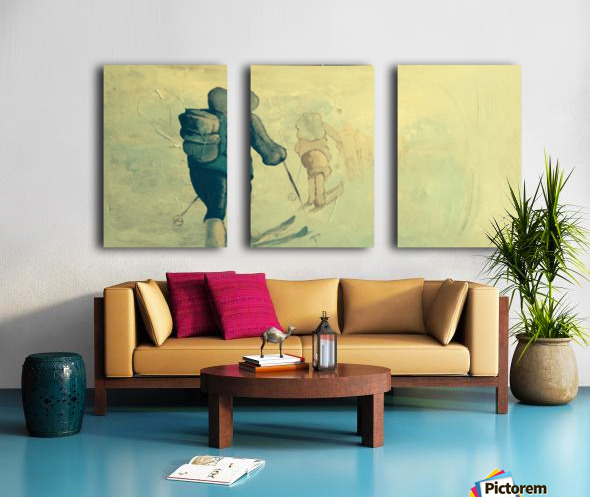 Winter Soltice Split Canvas print