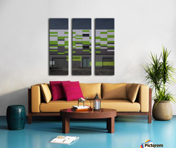 Geometry Split Canvas print