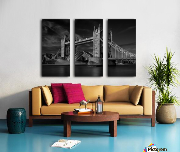 Bridge Split Canvas print