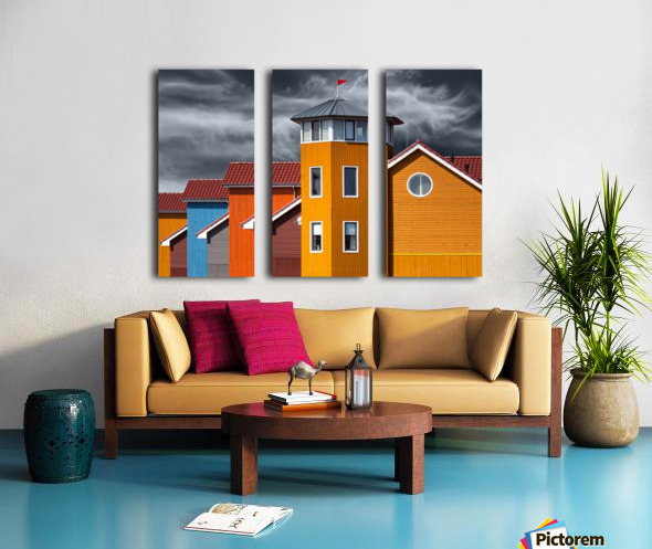 West wind Split Canvas print