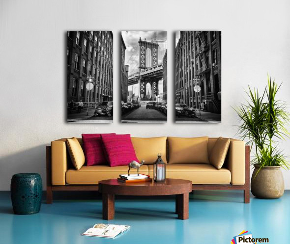 In America Split Canvas print