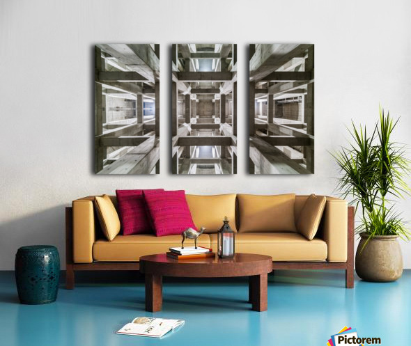 ceiling Split Canvas print
