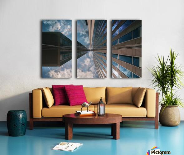 Meeting point Split Canvas print