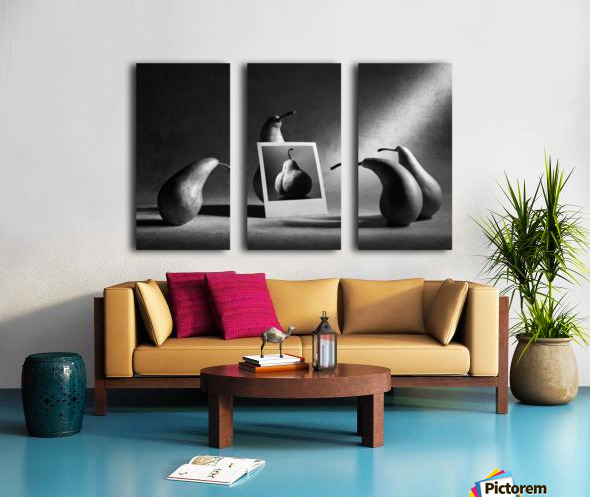 And this is my mother-in-law... Split Canvas print