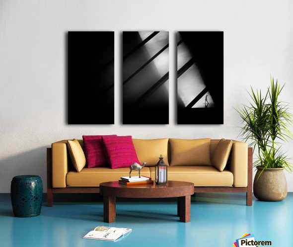 Crossing Split Canvas print