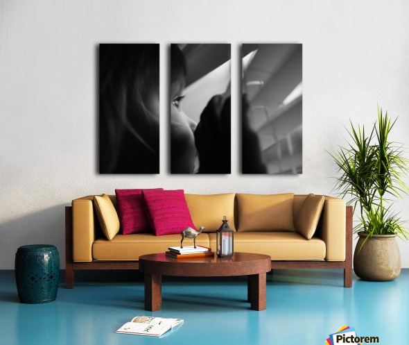 Searching for something Split Canvas print