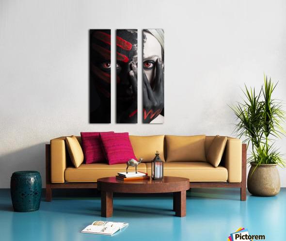 4 Elements - Fire Split Canvas print