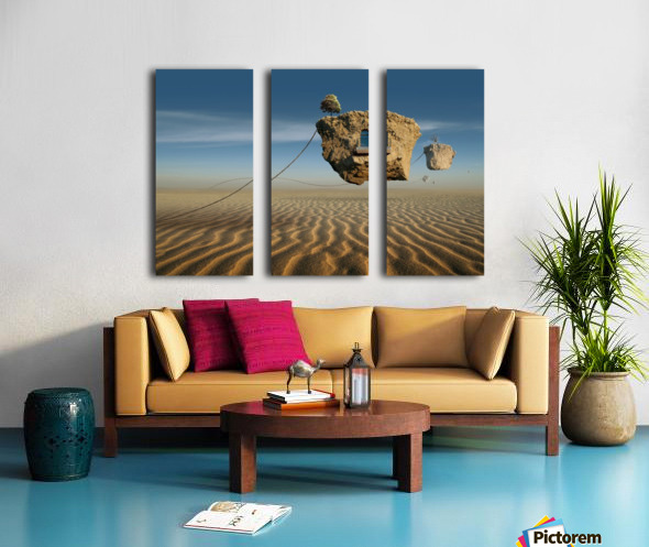Untitled Split Canvas print