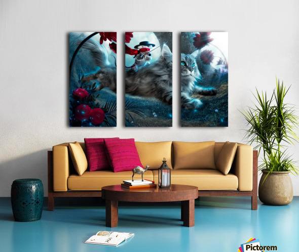 The Hero Split Canvas print