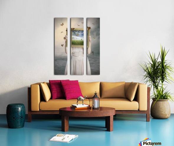 Set them free Split Canvas print