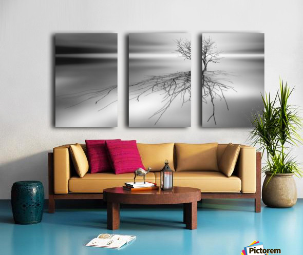 Even the dead cast shadows Split Canvas print