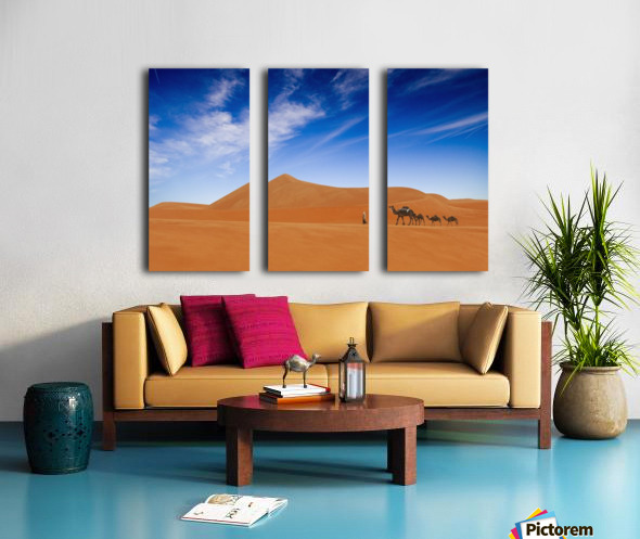 Desert Life .. Split Canvas print