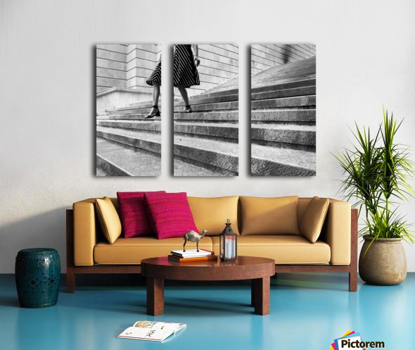 Escape Myself Split Canvas print