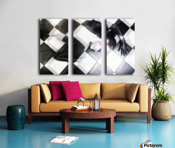 Tile Tales Split Canvas print