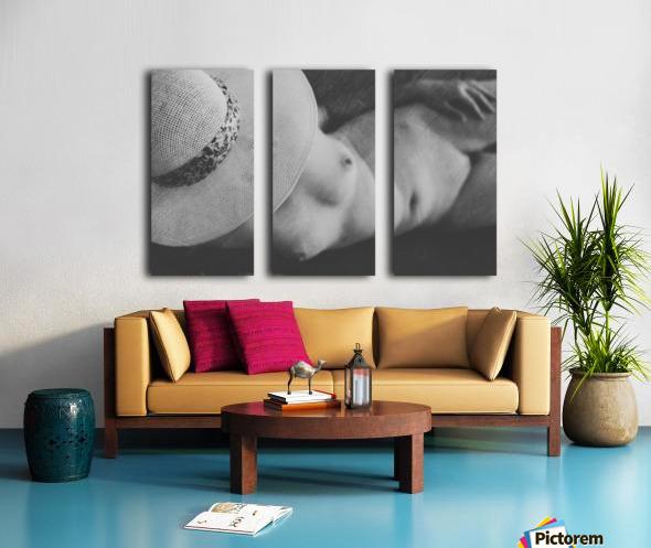 Ella Split Canvas print