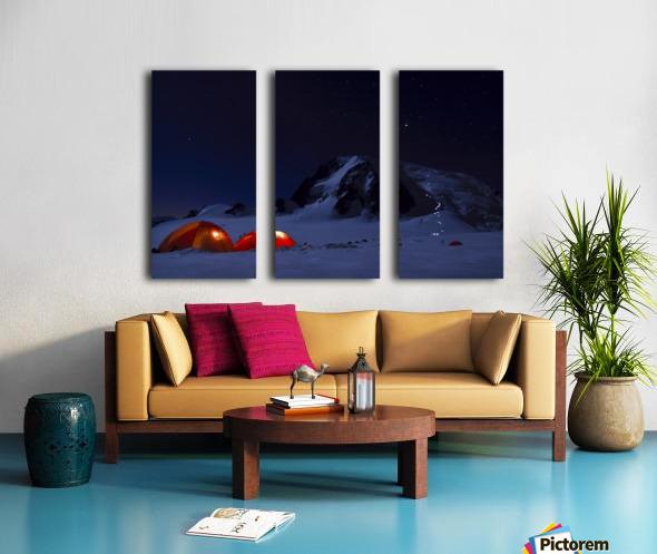 Alpine Start Split Canvas print