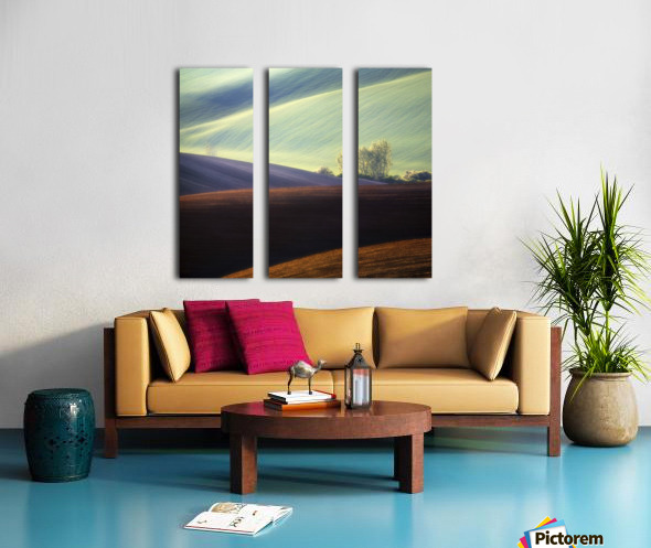 Fields... Split Canvas print