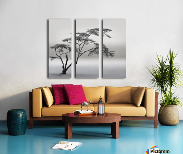a very long story Split Canvas print