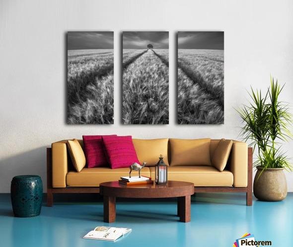 Alone Split Canvas print