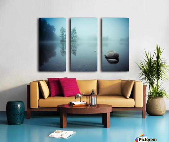 Laguna Morning Split Canvas print