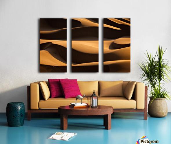 Layers Split Canvas print