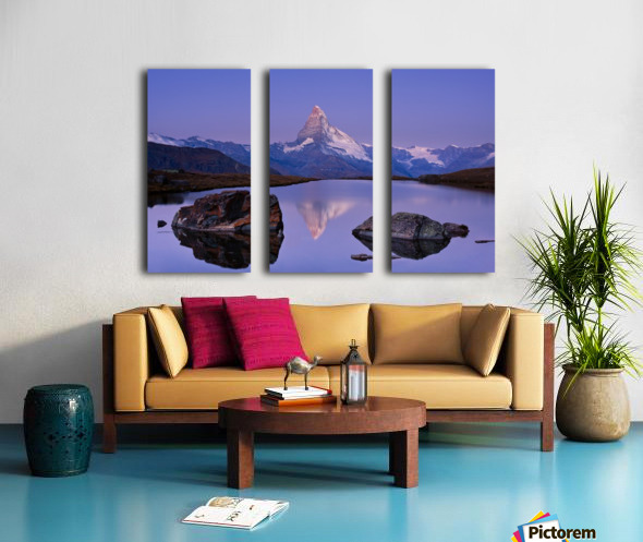 The first touch Split Canvas print
