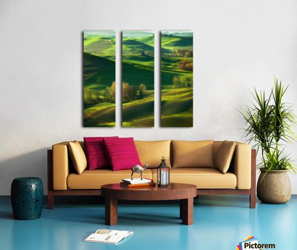 Valley... Split Canvas print