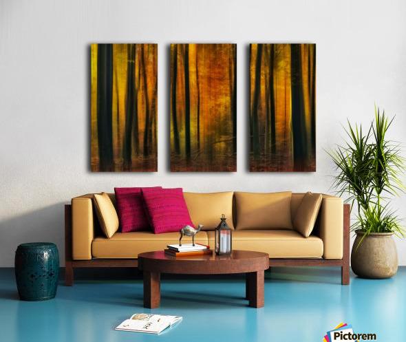 Autumn falls Split Canvas print