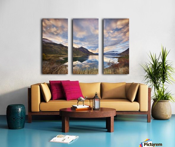 Morning Delight at Lake Hawea Split Canvas print