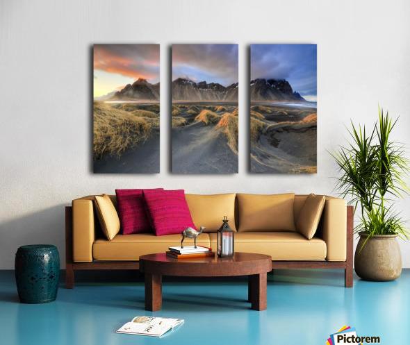 Vestrahorn Split Canvas print