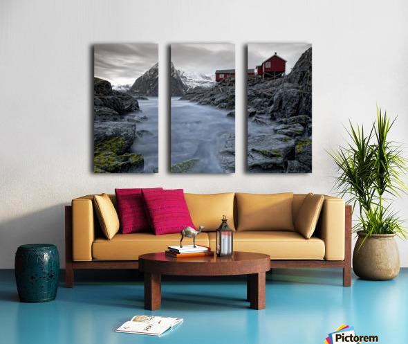 Living Norway Split Canvas print