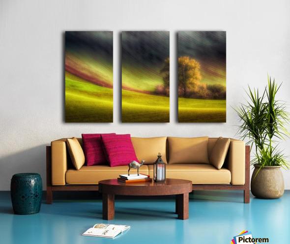 Moravian fields Split Canvas print