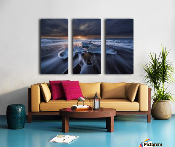 Wild Ice II Split Canvas print