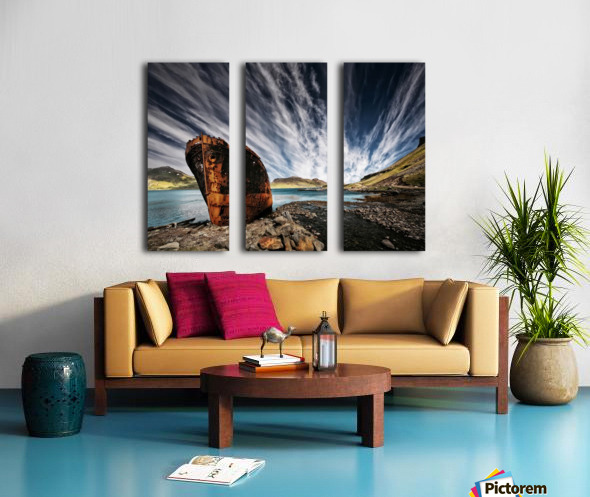 Chosen Place Split Canvas print