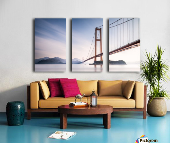 Xihou Bridge & Moon Bay Split Canvas print