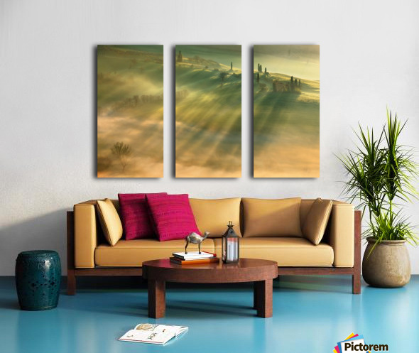 Mist... Split Canvas print