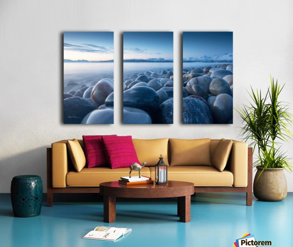 An ocean of time Split Canvas print