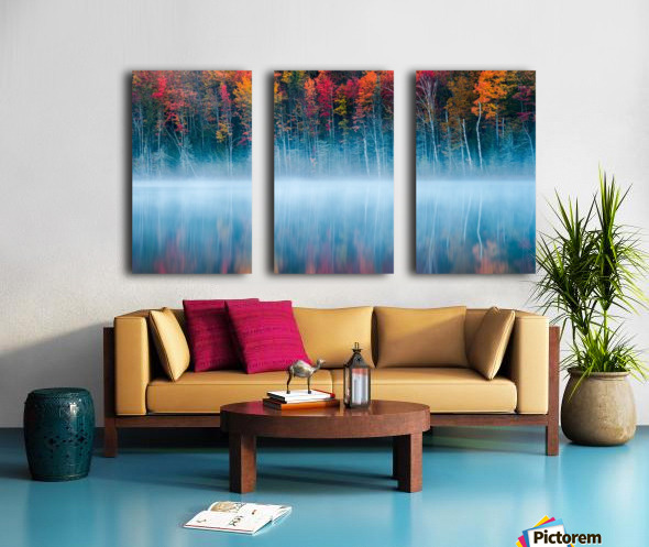 Morning Reflection Split Canvas print
