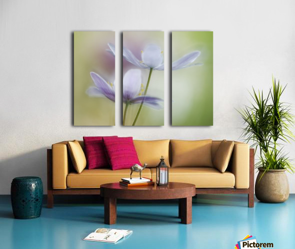 Two of a kind Split Canvas print