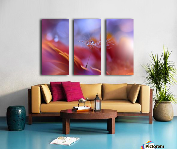 Dance in the Light... Split Canvas print