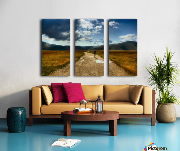 Losing myself Split Canvas print