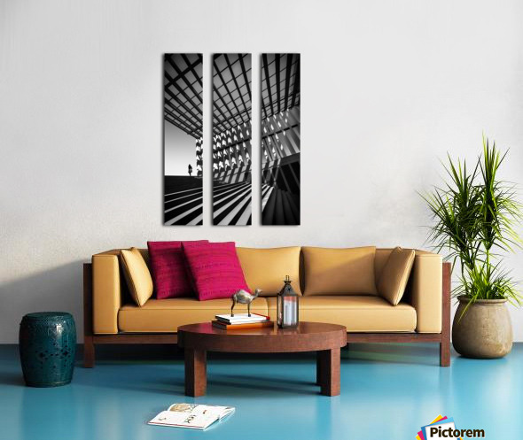 Drifting Split Canvas print