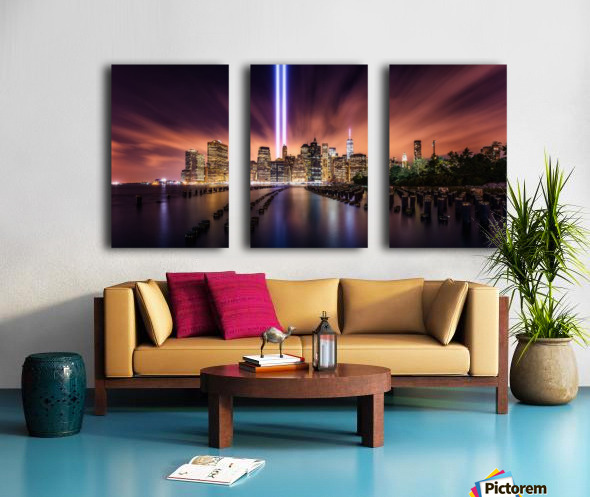 Unforgettable 9-11 Split Canvas print