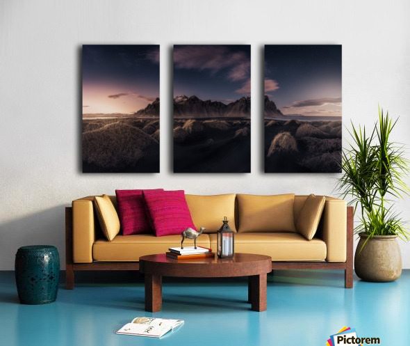 Since the End of the Day Split Canvas print