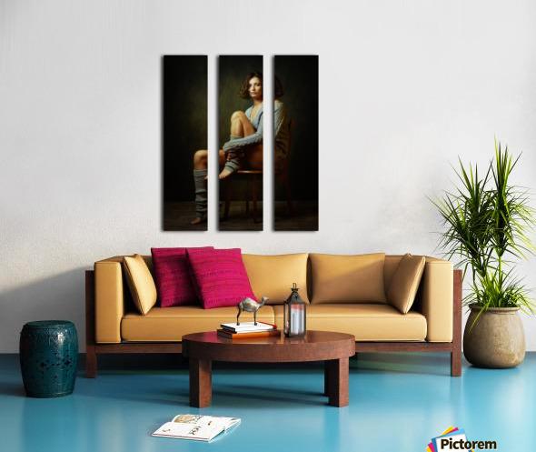 Galina Split Canvas print