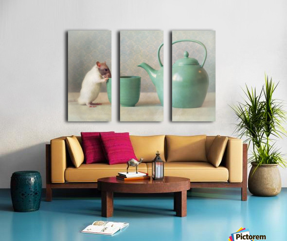 The Teapot Split Canvas print